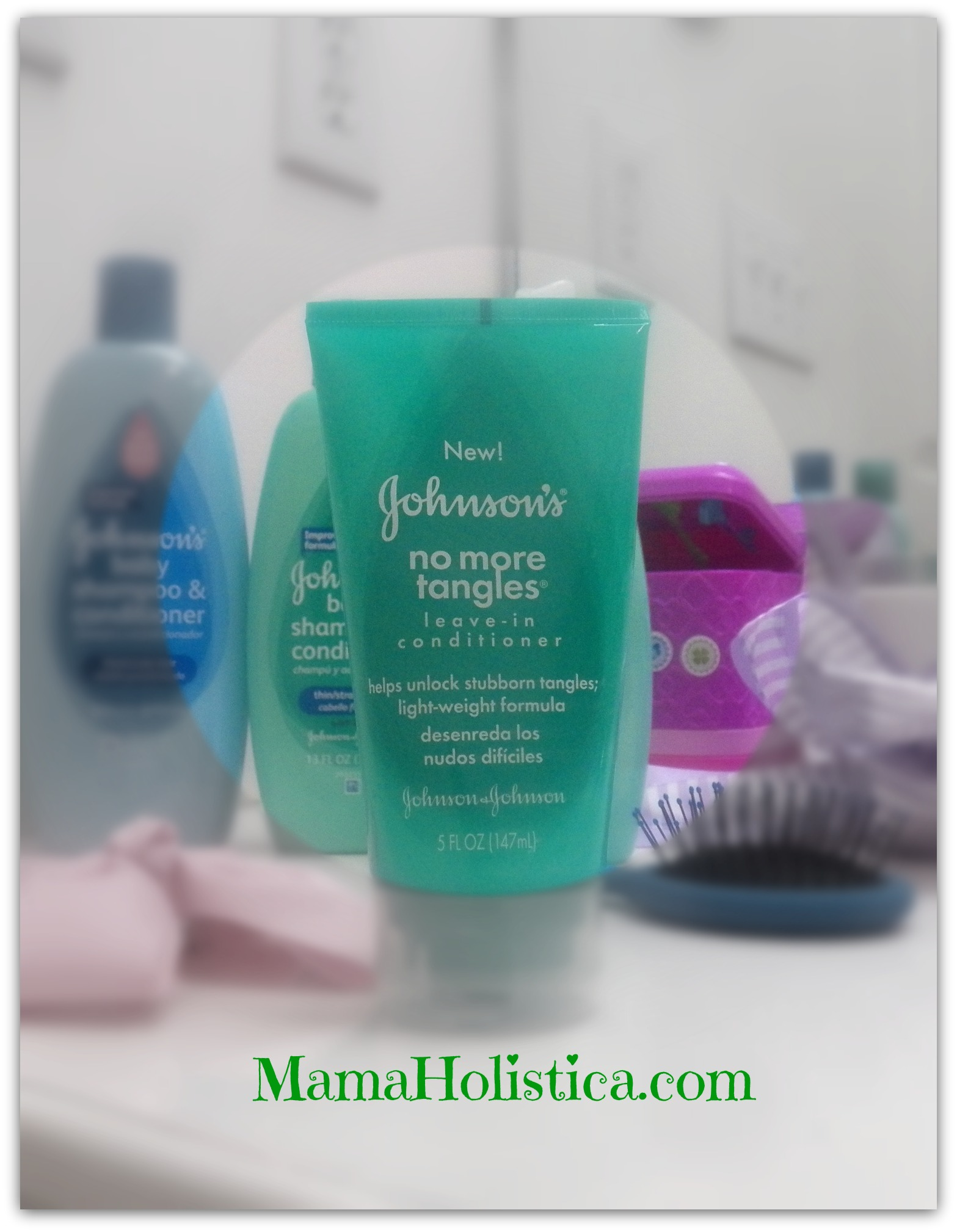 JOHNSON'S® NO MÁS TANGLES® Leave In Acondicionador