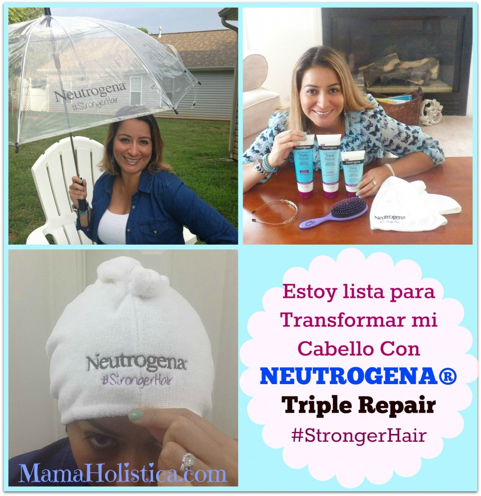 Tips para Transformar tu Cabello a Extraordinario con NEUTROGENA® Triple RepaiR #StrongerHair