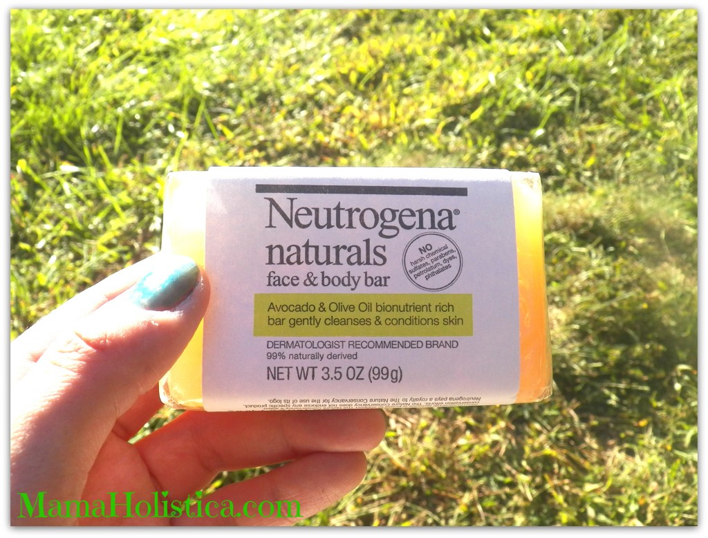 NEUTROGENA® Naturals Face & Body Bar