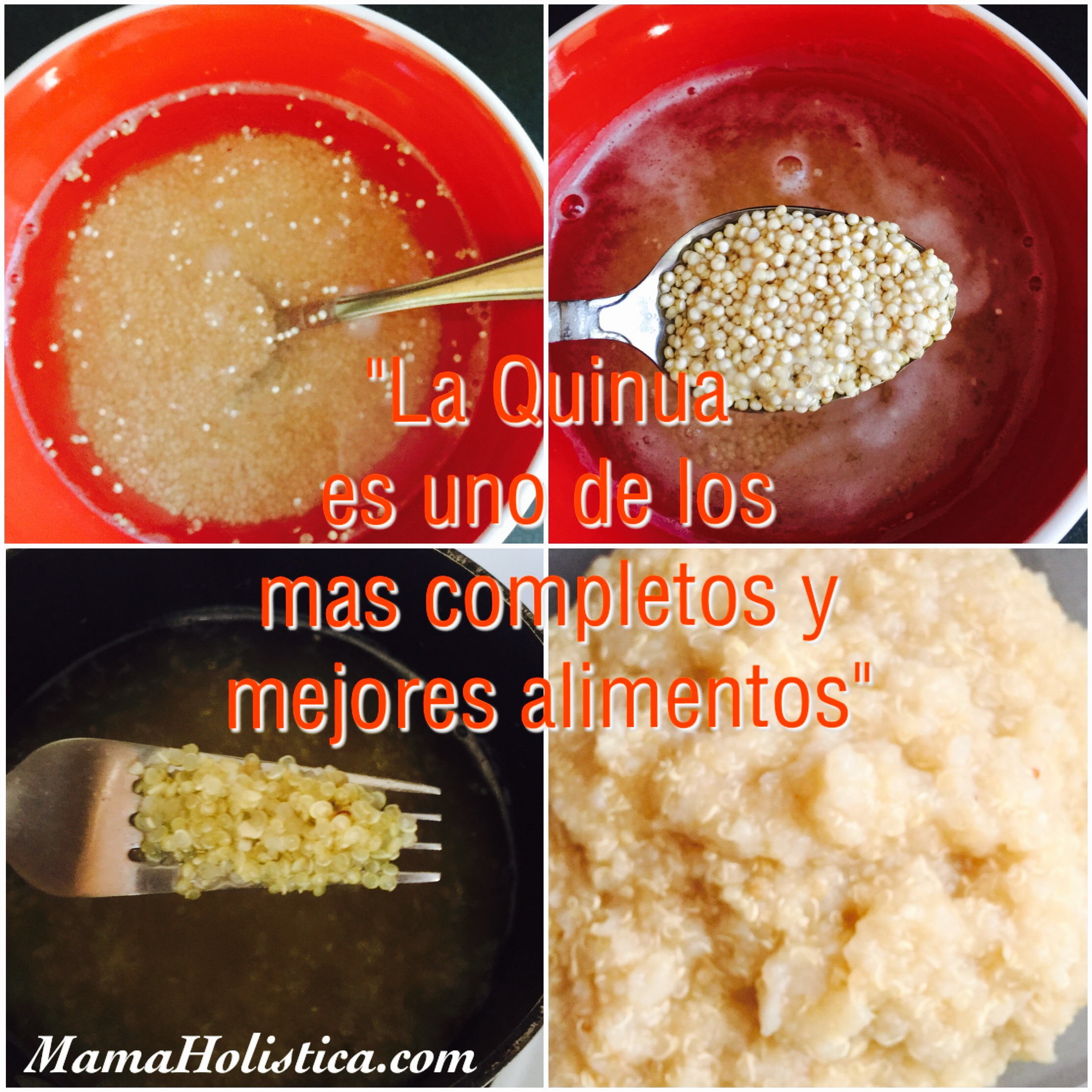 Miércoles Mudo / Wordless Wednesday: Preparando Quinua #MM